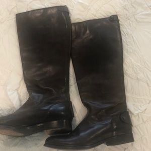 Frye Shoes - Frye Dark brown riding boots